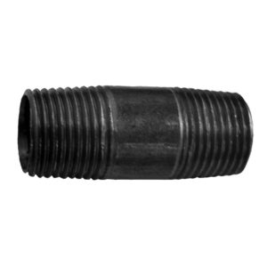 "3/4"" x 10"" Pipe Nipple Black"