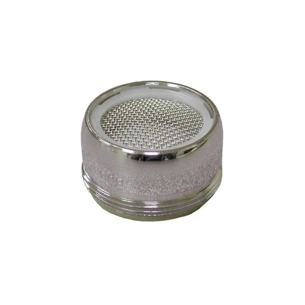 """15/16""""-27 Male Thread Non-Slotted Full Flow Aerator"""