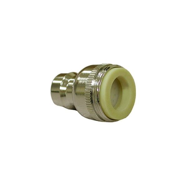 """Dual Thread 15/16""""-27 Male x 55/64""""-27 Female Aerated Snap Fitting"""