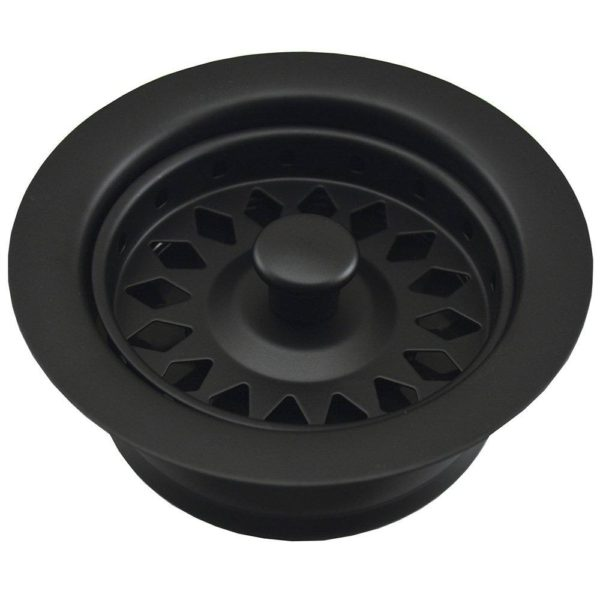 Black Disposal Assembly Fits In-Sink-Erator