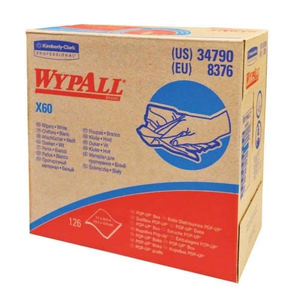 """Wypall Teri Towels, 9-3/4"""" x 16-3/4"""" x 125 sheets, 10 Boxes per Carton"""
