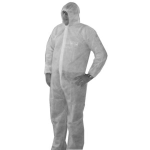 Large Disposable Coverall, Pack of 5