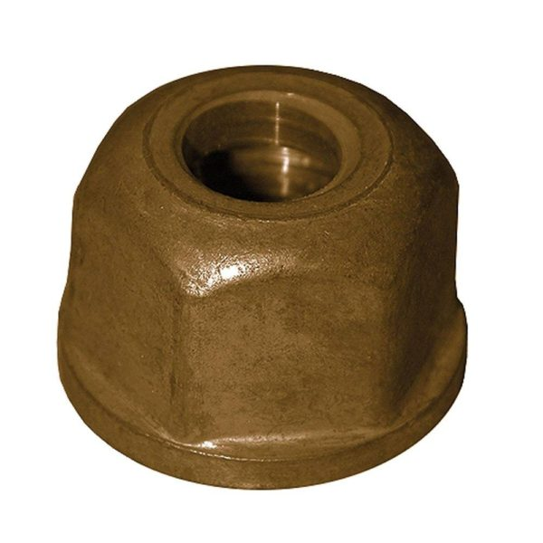 "1/2"" - 14 x 3/8"" Regular Zamak Basin Nut, 25 pcs."