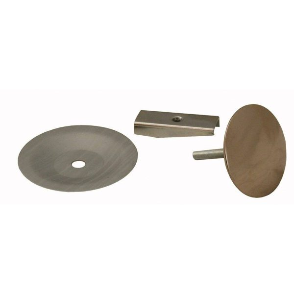 Polished Stainless PVD Faucet Hole Cover