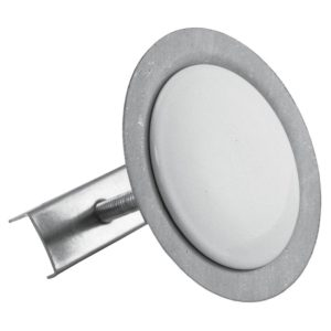 Polar White Faucet Hole Cover