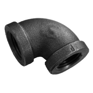 "1-1/2"" 90 Elbow Black"