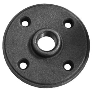 "1/2"" Floor Flange Black"