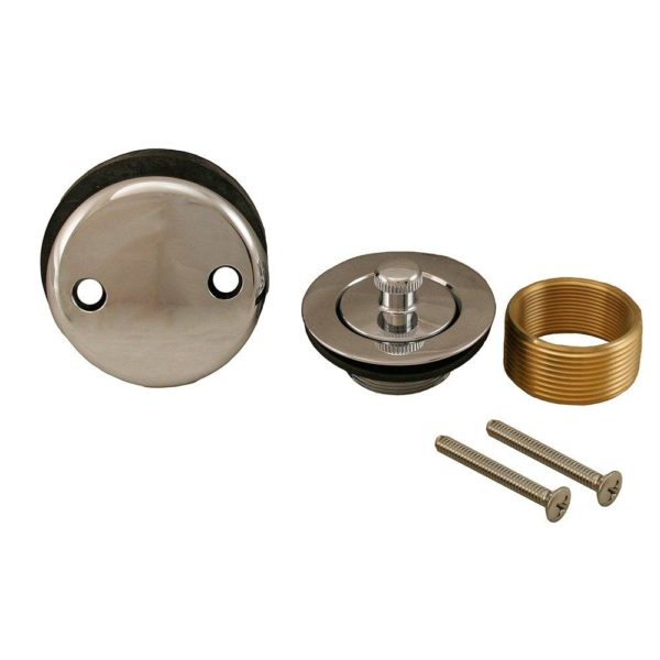 Chrome Plated Two-Hole Lift and Turn Conversion Kit