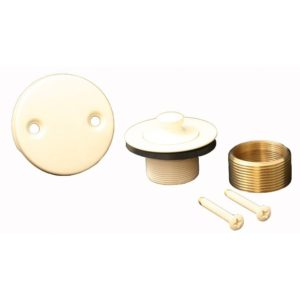 Almond Two-Hole Lift and Turn Conversion Kit