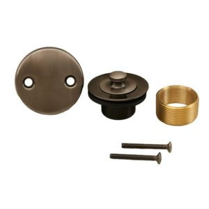 Antique Pewter Two-Hole Lift and Turn Conversion Kit