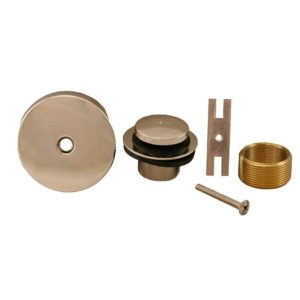 Polished Stainless One-Hole Toe Touch Conversion Kit