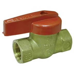 "1-1/4"" FIP Brass Gas Ball Valve"