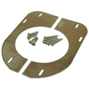 Cast Iron Flange Support for Wood Floors (carded)