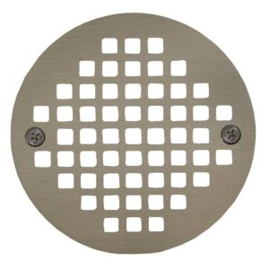 "6"" Nickel Bronze Round Cast Coverall Strainer"