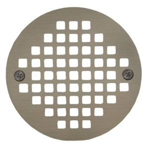 "4"" Nickel Bronze Round Cast Coverall Strainer"