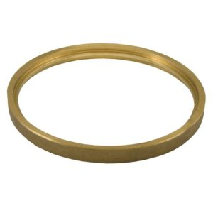 "5"" Polished Brass Ring for 5"" Diameter Spuds"