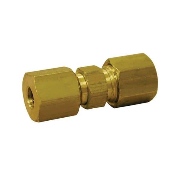 "5/8"" Brass Compression Union, Lead Free"