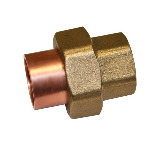 """2-1/2"""" Wrot/ACR Solder Joint Copper Union"""