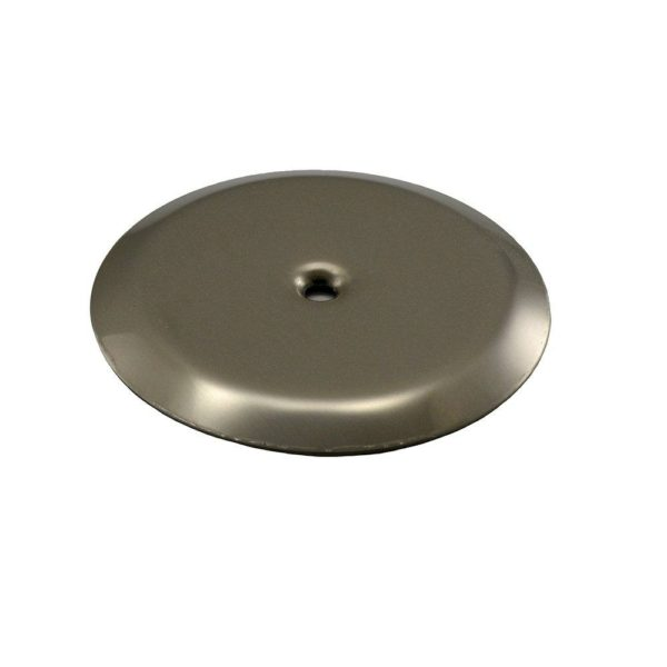 """10"""" Stainless Steel Cleanout/Extension Cover, Floor Mount (16 Gauge)"""