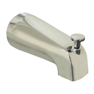 """1/2"""" CTS Chrome Plated Slide Connection Diverter Spout with Base Connection"""