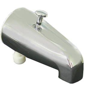 Chrome Plated Diverter Spout for Hand Held Shower, Lower Hookup
