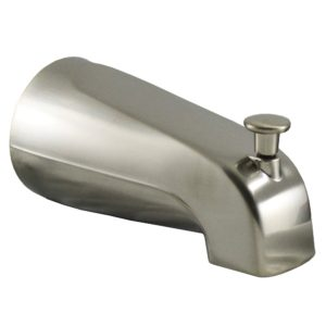 """Brushed Nickel 1/2"""" CTS Diverter Spout with Slide Connection"""