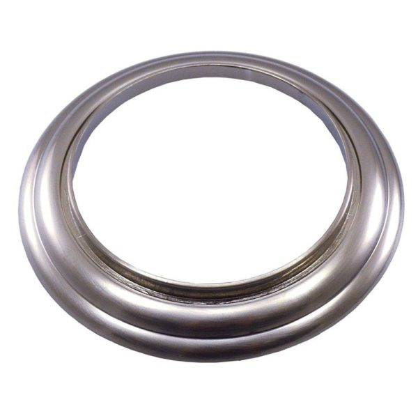 Brushed Nickel Decorative Ring for Tub Spouts and Diverters