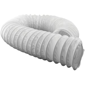 "4"" x 50' (Boxed) Vinyl Hose for Bathroom Fan Vent Kit"