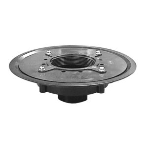 """2"""" ABS Heavy Duty Drain Base with Prime Tap, for 4"""" Spud"""