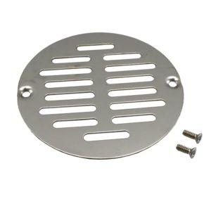 "4"" Stainless Steel Round Strainer to Fit Inside Plastic Ring"