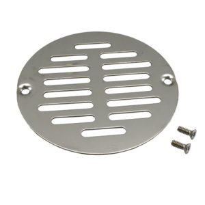 "5"" Stainless Steel Round Strainer to Fit Inside Plastic Ring"