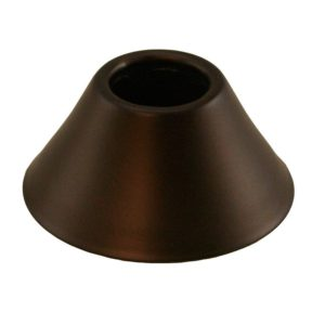 "Oil Rubbed Bronze (ORB) Escutcheon 1/2"" IPS Bell Pattern 2-3/8"" OD"
