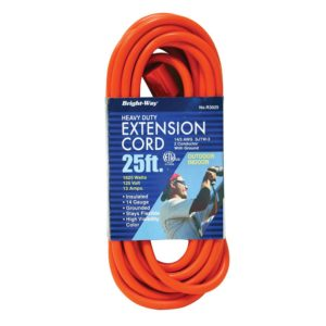 14/3 25 ft. Orange Extension Cord