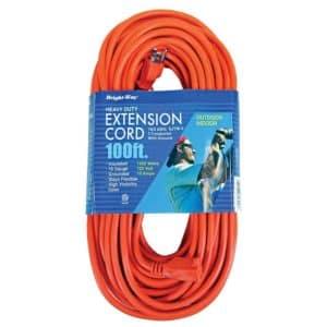 14/3 100 ft. Orange Extension Cord
