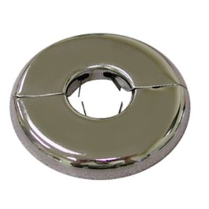 """2"""" CTS (2-1/8"""" CTS OD) Floor and Ceiling Plate, Heavy 21 Gauge with Springs, Box of 12"""