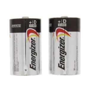 Energizer Batteries, D Size (2 pack)