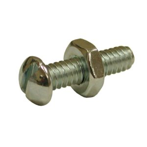 "1/4"" x 1-1/4"" Stove Bolt with Nut, 100 pcs."