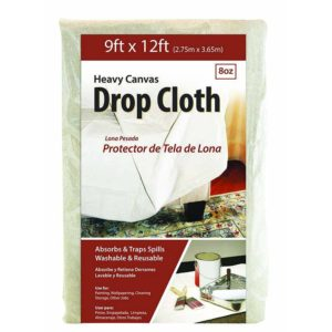 9' x 12' Cotton Canvas Drop Cloth