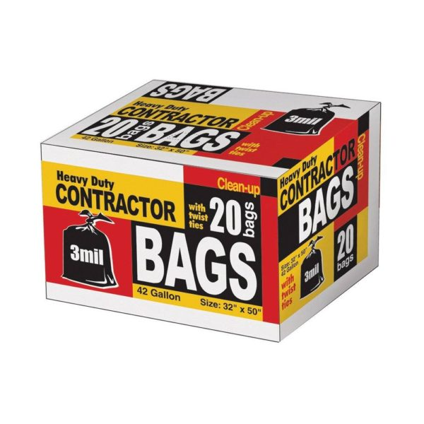 42 Gallon Trash Bag, 20 Count