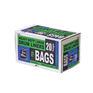 55 Gallon Drum Liner, 20 Count