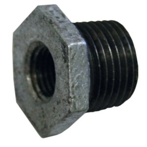 "1-1/2"" x 1-1/4"" Hexagon Bushing Galvanized"