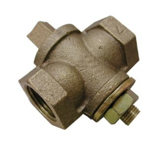 "1-1/4"" Gas Shut-Off Valve, Square Head"