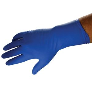 Disposable Blue Latex Gloves