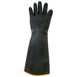 "18"" Industrial Rubber Work Gloves, 10 Pairs"