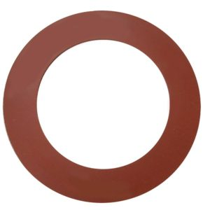 "10"" Red Rubber Ring Gasket"