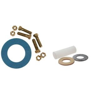 """1-1/2"""" Asbestos-Free Ring Gasket Kits with Insulation Kit , 1/2"""" x 2-1/4"""" Bolt Size"""