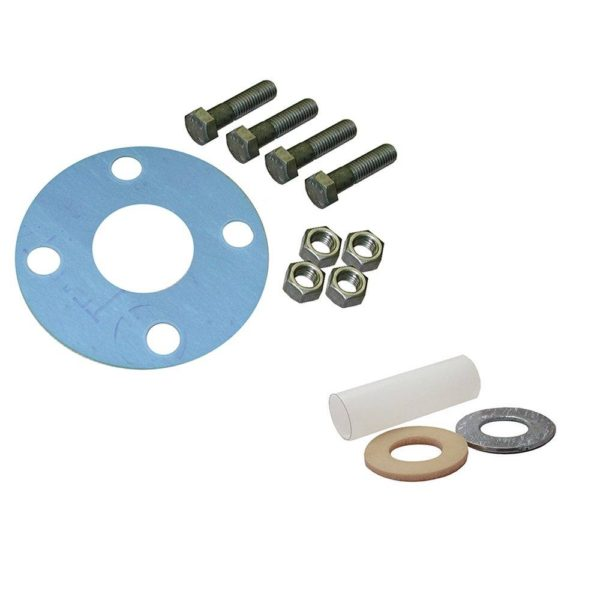 """3""""Asbestos-Free Full Face Gasket Kit with Insulation Kit, 5/8"""" x 3"""" Bolt Size"""