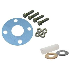 """1-1/2""""Asbestos-Free Full Face Gasket Kit with Insulation Kit, 1/2"""" x 2-1/4"""" Bolt Size"""