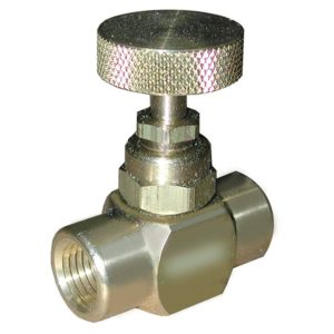 "1/4"" Needle Valve for Pressure Gauge"