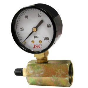 100 PSI Gas Test Gauge Assembly